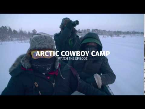 Polar Night Magic - Stage 9 Arctic cowboy camp