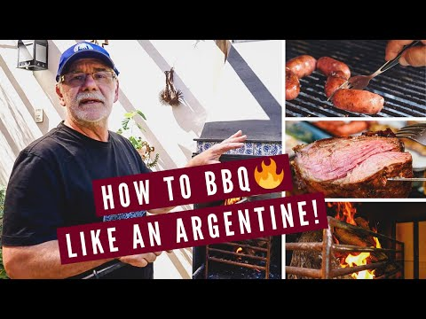 HOW TO BBQ LIKE AN ARGENTINE! | Argentinian Asado Barbecue Lesson in Mendoza, Argentina 🇦🇷