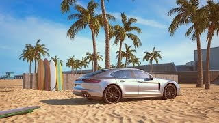The sound of the Panamera 4S – visualized by CGI artist Chris LaBrooy
