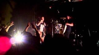 Bleeding Through - The March / Faith In Fire - Live 2.3.12 (1/11)