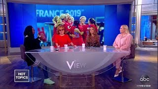 U.S. Women's Soccer Team Demands Equal Pay | The View