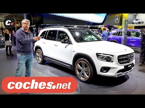 Mercedes-Benz GLB y Mercedes-AMG GLB 35 2020   Salón de Frankfurt IAA 2019 en español   coches.net