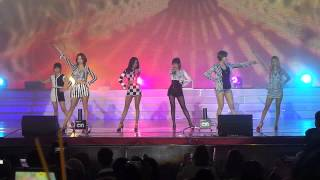 [FANCAM] 140214 T-ARA - Roly Poly (Live in Cambodia)