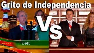 Comparación grito Peña Nieto vs Felipe Calderon