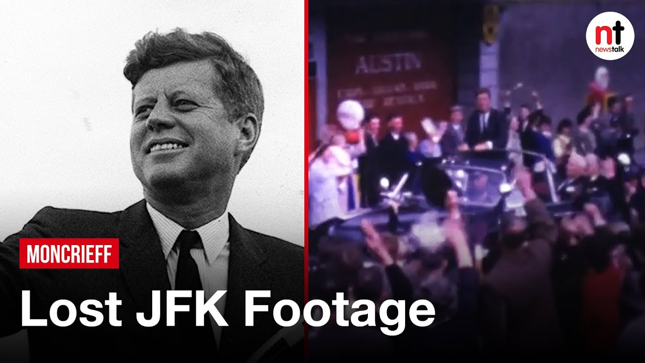 Lost Footage of John F. Kennedy's Visit to Ireland found almost 50 Years Later