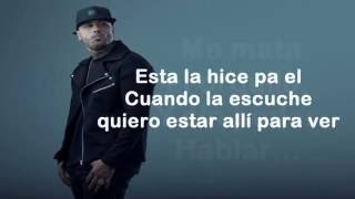 Tu Amante   Nicky Jam Lyrics OFICIAL 2016