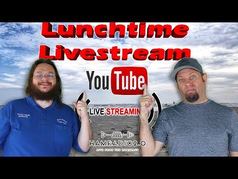 Lunchtime Livestream for December 2 - Ham Radio Livestream