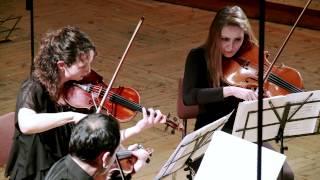 """Quarto Quartet plays Mozart Serenade """"Eine kleine Nachtmusik"""" Part 4"""