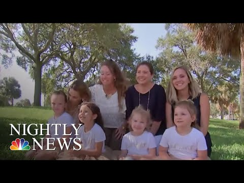 Four Girls Fight Through Cancer With Friendship | NBC Nightly News