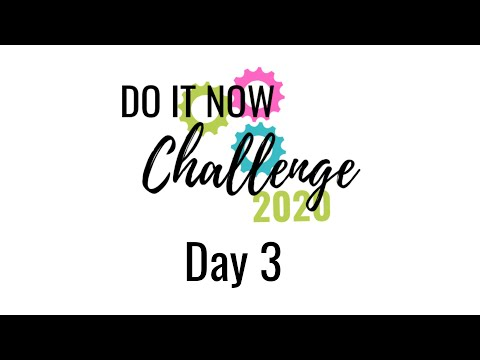 Survival Mom's DO IT NOW 2020 Challenge - Day 3