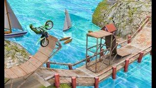 ► Impossible Bike Stunts 3D Level 1-10 - Stunt Bike Racing Game Tricks Master 🏁