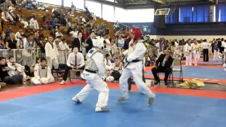 Taekwondo Fight (NY State qualifiers) Black belt