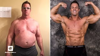 44 Year Old Dad Bod Transformation | Lost Over 50 lbs width=
