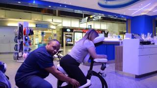 ASMR How to Do a Chair Massage Working at The Airport  Part 2 Step by Step Tutorial on Youtube width=