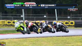 AMA Pro GoPro Daytona SportBike FULL Race 1 (HD) - New Jersey Motorsports Park - 2013