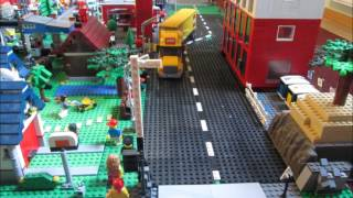 Lego car crashes complation w/ awesome sound effect