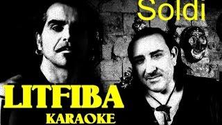 Soldi Litfiba karaoke con testo cover Monterosso Andrea Base musicale instrumental introvabile rara