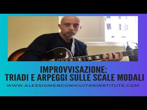 Tre trucchi per lo sviluppo dell'improvvisazione con le  scale modali | Alessio Menconi