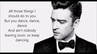 Can't stop the feeling - Justin Timberlake LYRICS