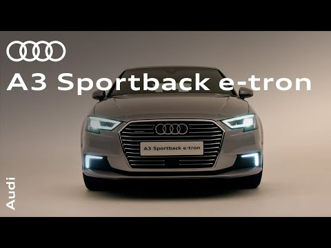 The new Audi A3 Sportback e-tron: Plug-in hybrids without the compromise