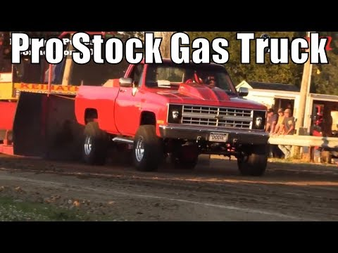 Pro Stock Gas Truck Class At TTPA Truck Pulls In Port Hope MI 2018