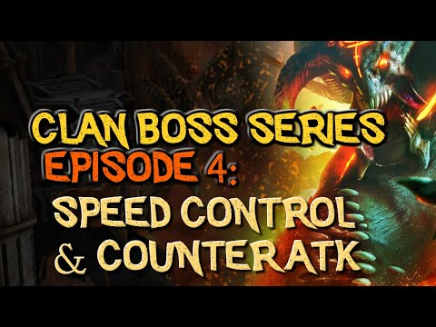 RAID: Shadow Legends | Clan Boss Series, Episode 4! Speed, Speed Tuning & Counter Attacking Exposed