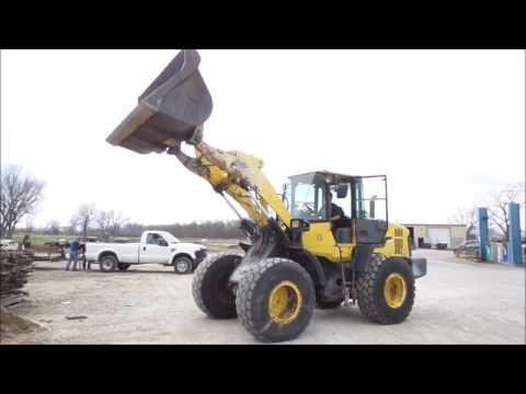 Komatsu WA250-6 wheel loader for sale | no-reserve Internet auction April 13, 2017