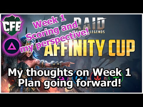 RAID Shadow Legends | Affinity Cup Week 1 Wrap-Up and Week 2 Plans!