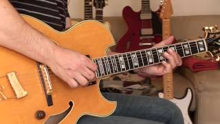 Ibanez Pat Metheny PM 100, Part3 (with Elixier Strings 11-49)
