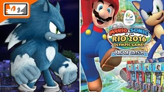Werehog now in Sonic Runners and Mario & Sonic Rio 2016 Olympic Games Arcade Edition Coming West!