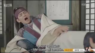 Hwarang ( V de BTS)  Capítulo 12 Sub Español Parte 1/3