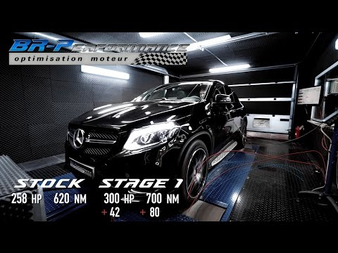 Mercedes GLE 350 CDi Stage 1 By BR-Performance