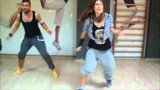"DANCE FITNESS - Nevena & Goran - Crazy Design ft Carlitos Way ""El Teke Teke"""