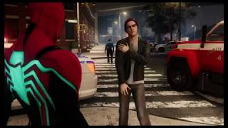 Marvel SpiderMan PS4 A Matter of Debate Side Mission - SpiderMan Gameplay Walktrough