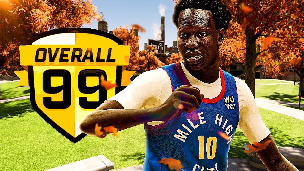 """Dignify2K - 99 BOL BOL 7'1"""" BUILD is ONE of a KIND in NBA 2K21"""