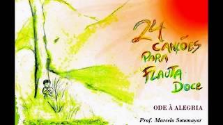 Ode à Alegria (Ode to Joy) - Aula Flauta Doce (Flute)