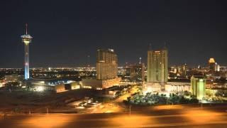 San Antonio Skyline Time Lapse-From the Vidorra Penthouse
