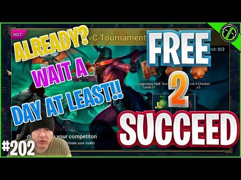 Plarium ALREADY Selling CvC Points?!?! | Free 2 Succeed - EPISODE 202