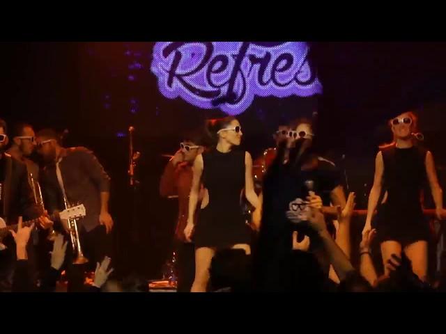 Video en directo de The Refrescos - Aquí no hay playa