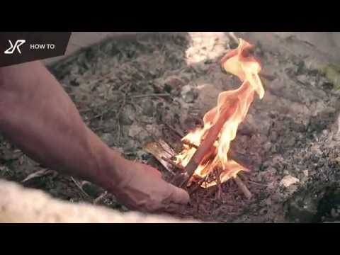 How To Light a Fire with Fire Steel