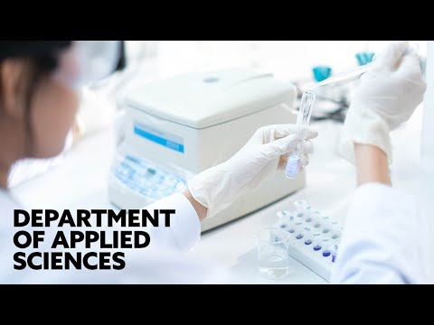 Department of Applied Sciences | Northumbria University