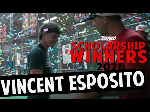 Vince Esposito gets a Zoned Scholarship Surprise