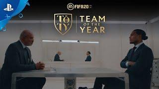 FIFA 20 | Team of the Year Reveal Trailer ft. Virgil Van Dijk | PS4