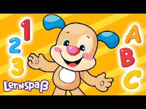ABC und 123 Lied | Lernspaß | Fisher-Price Deutsch | Kinderlieder | Cartoons für Kinder