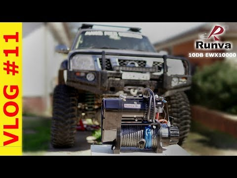 Unboxing Runva 10DB EWX10000 Twin Motor Competition Winch