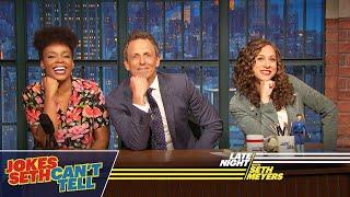 Jokes Seth Can't Tell: Possible Shoplifters, Artisan Lemonade