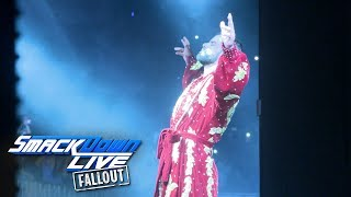 Watch exclusive footage of Bobby Roode's SmackDown LIVE debut: SmackDown LIVE Fallout, Aug. 22, 2017