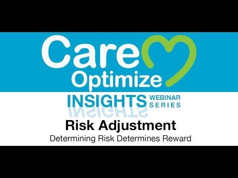 Risk Adjustment Determining Risk Determines Reward