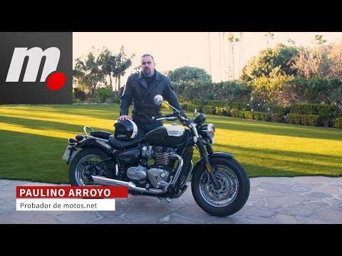 Triumph Speedmaster | Presentación / Primera Prueba / Test / Review en español | motos.net