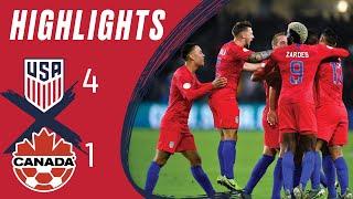 MNT vs. Canada: Highlights - Nov. 15, 2019